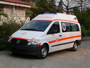 婴幼儿监护型救护车出租